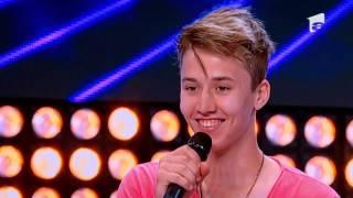 X Factor Romania - Prezentare: Andrei Colta se considera Justin Bieber