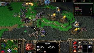 Warcraft 3 deluxe 3v5 Demon vs mix 2224