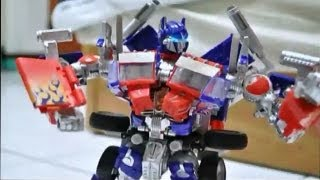 Transformers Stop Motion : Met with Prime 初會柯博文