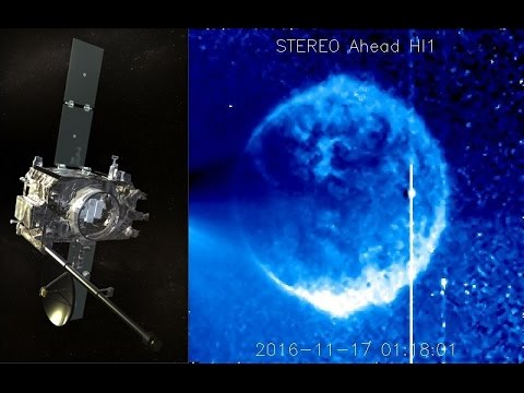 Huge object is captured on NASA S SECCHI STEREO HI1 satellite today