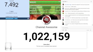 """""""To the Salon!"""": Channel Awesome Live Sub Count + Change The Channel Updates and Discussion"""