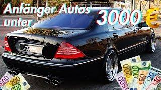 Die besten Anfänger Autos für unter 3000€