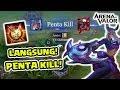 Download Video AUTO Penta Kill! Lindis Omni Arms Ternyata SEREM Banget! - Arena of Valor 3GP MP4 FLV