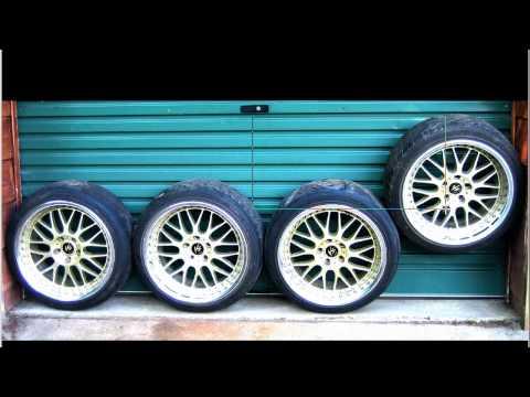 WORK Alloy wheels rims VS XX Gold edition 18* 9J / 9.5J +33 (5x114.3mm)