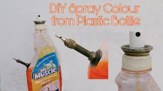 DIY Air Paint Spray Gun - How to Make Spray Paint