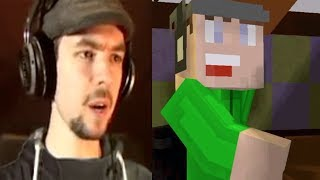 Jacksepticeye | FIVE NIGHTS AT FREDDY'S 2 MINECRAFT EDITION | Cartoon And Reality At Once