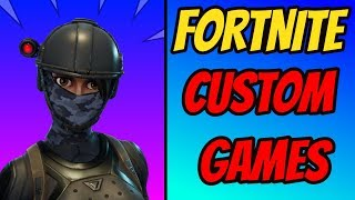 *NEW* FORTNITE CUSTOM MATCHMAKING GAMES!!! RIGHT NOW!! PC/PS4/Xbox/Switch! LIVE