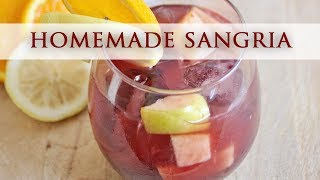 Homemade Spanish Sangria - Authentic Recipe