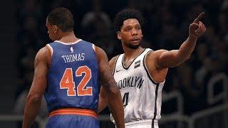 NBA 1/15 New York Knicks vs Brooklyn Nets | Full NBA Game Highlights Knicks vs Nets (NBA LIVE 18)