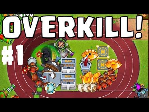 OVERKILL! || BLOONS TOWER DEFENSE 5 Co-Op #1 || Let's Play BTD 5 [Deutsch/German HD]
