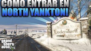 GTA 5 |  COMO ENTRAR EN NORTH YANKTON! |  Versión 1.33 (Truco Normal)