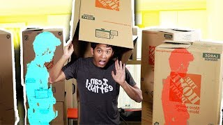 Mystery Boxman Challenge (WHOS IN THE BOX??)