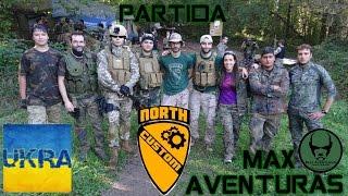 PARTIDA MAX AVENTURAS CON NORTH CUSTOM 30/10/2016 - UKRANIANO AIRSOFT
