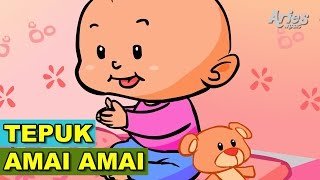 Lagu Kanak Kanak Alif & Mimi - Tepuk Amai Amai (Animasi 2D)