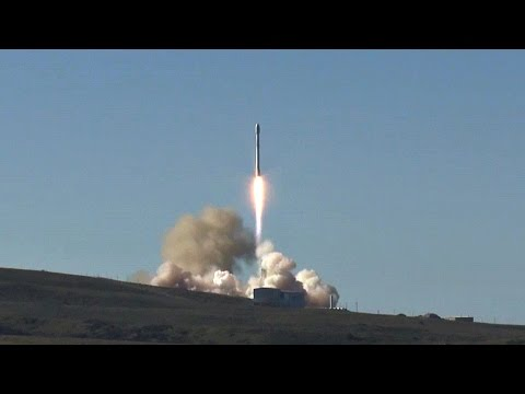 Falcon 9 Launches from Vandenberg Air Force Base