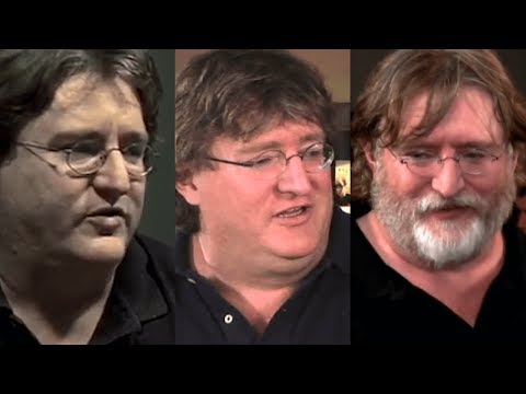 Gabe Newell on Half Life 3 for a decade