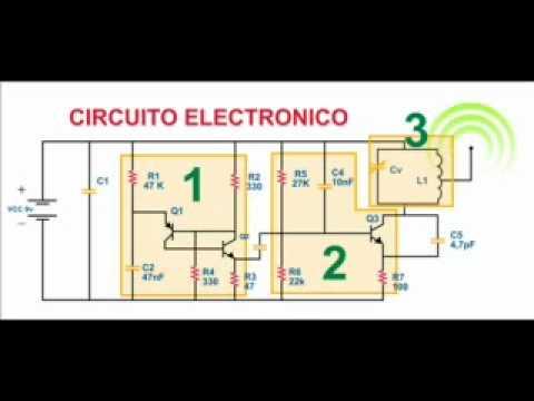Circuito Transmisor de Ondas de Radio Frecuencia