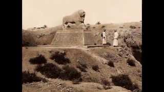 Ruins of Ancient City of Babylon, Iraq 1932