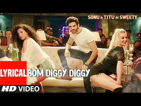 Download Bom Diggy Diggy (Lyrical Video)   Zack Knight   Jasmin Walia   Sonu Ke Titu Ki Sweety free