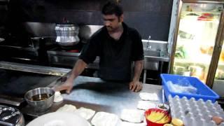 Making Roti Canai in Malaysia