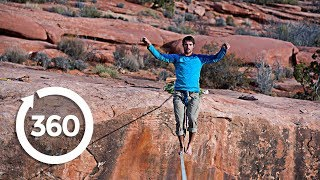Walk The Tight Rope (360 Video)