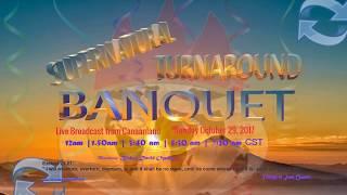 Bishop David Oyedepo @ Supernatural Turnaround Banquet,  October 29,  2017 [4th  Service]