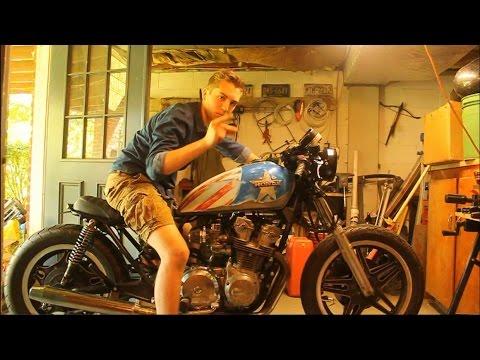 1981 Honda CB750 Cafe Racer Build Part #4 FINISHING IT UP