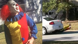 KILLER CLOWN PRANK WENT EXTREMELY WRONG !!!!!! I ALMOST DIED