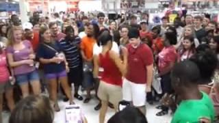White Boy Schooling Dougie at Target