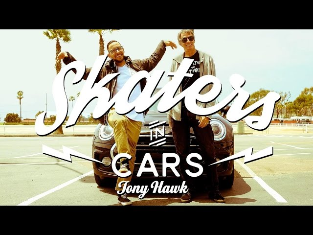 Skaters In Cars: Tony Hawk | Part 1
