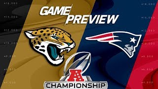 Jacksonville Jaguars vs. New England Patriots | AFC Championship Preview | NFL