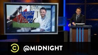 Music Video Microscope - Four-Minute Malaria Dream - @midnight with Chris Hardwick