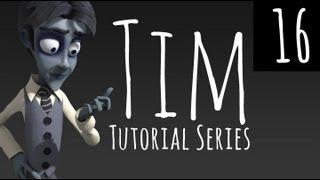 Tim - Pt 16 - Facial Rig, Custom Bone Shapes, Shape Key Drivers