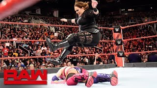 Nia Jax ambushes Asuka: Raw, Feb. 19, 2018