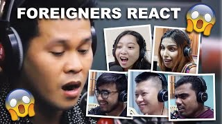 Foreigner's Reaction To The Prayer As Performed By Marcelito Pomoy On Wish 107.5