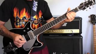 AC/DC Riff Raff Malcolm Young's Part