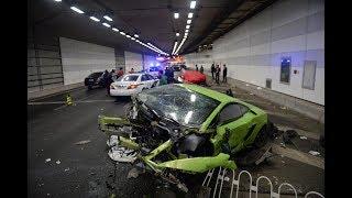 Most EXPENSIVE Hypercar Crashes, Crash Montage