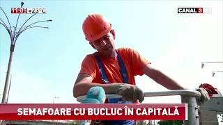 Canal 3 HD - Semafoare cu bucluc în Capitală