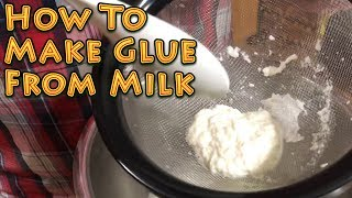 Making Glue From Milk   A Homestead Kids Science Project