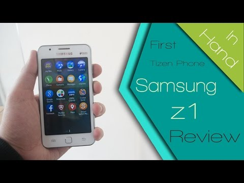 Samsung Z1 (SM-Z130H) Tizen OS Phone - Impressions & Hands On Review! TheGadgetsTV