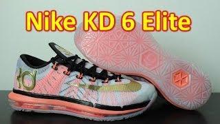 Nike KD 6 Elite White/Metallic Gold - Review + On Feet