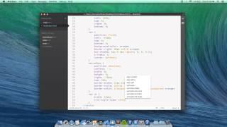 HTML Slide Out Menu