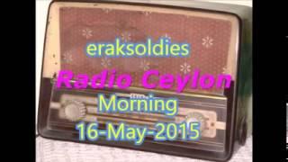 Radio Ceylon 16-05-2015~Saturday Morning~02 Purani Filmon Ka Sangeet