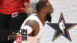 The fourth quarter of the NBA All-Star Game 'was good basketball' | Pardon the Interruption | ESPN
