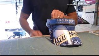 How to make a Beer box visor