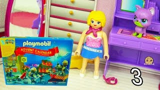 Playmobil Holiday Christmas Advent Calendar - Toy Surprise Blind Bags  Day 3