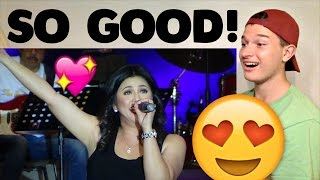 Regine Velasquez Singing Chandelier Reaction!