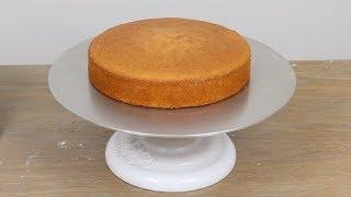 Moist Sponge Cake کیک اسفنجی نرم