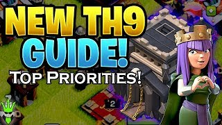 WHAT TO DO FIRST AT NEW TH9 - TH9 UPGRADE PRIORITIES - Let