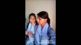 Indian school girl funny joke video